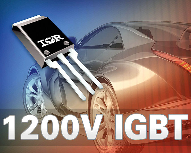 Транзистор IGBT c мягким включением для гибридных и электрических транспортных средств
