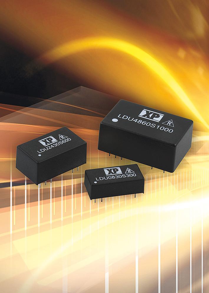Высокоэффективные понижающие DC/DC-драйверы светодиодов с мощностью до 48 Вт