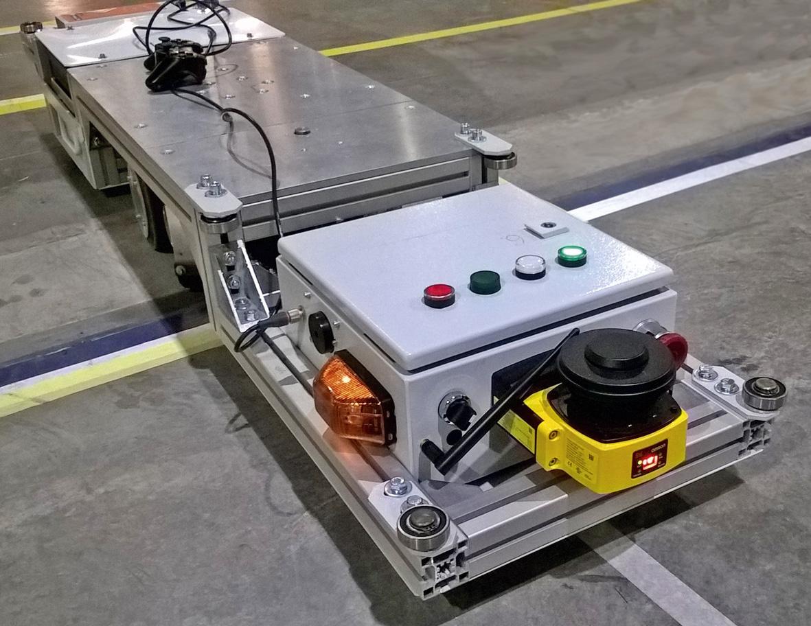 Отечественный  промышленный AGV