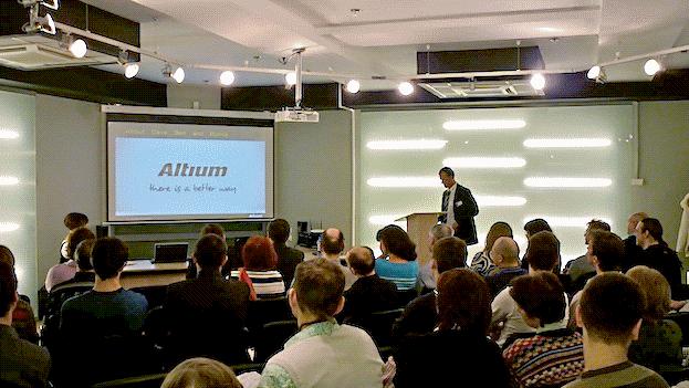 Altium: семинар в Новосибирске 13 апреля