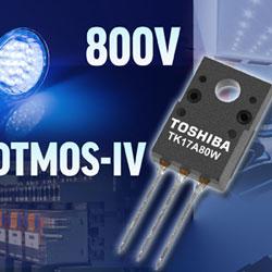 Первый 800-вольтный МОП-транзистор с технологией DTMOS-IV Super Junction от Toshiba