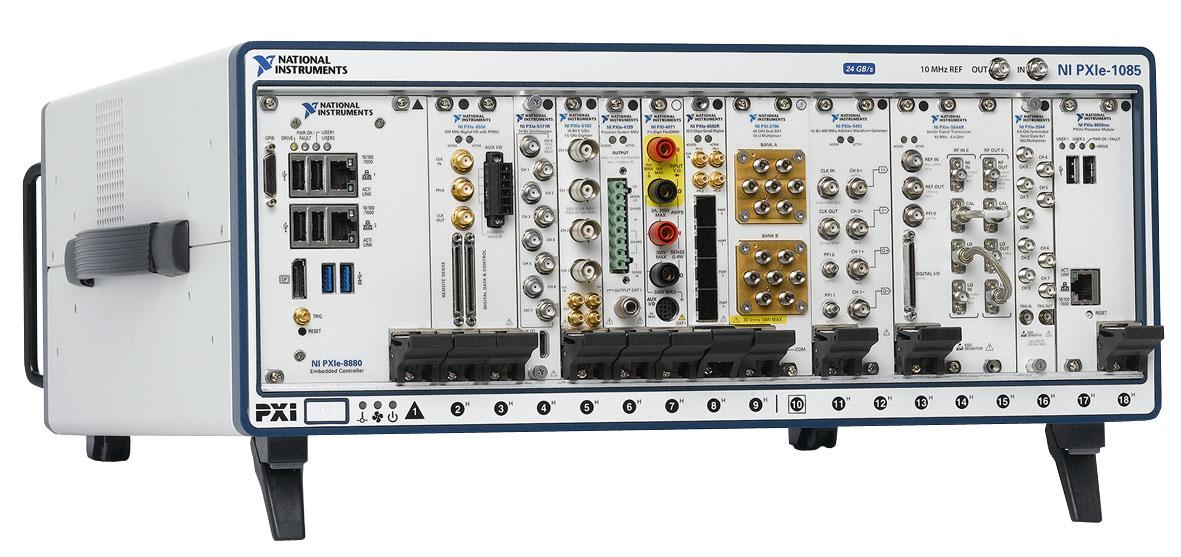 NI представляет первый встраиваемый контроллер PXI на базе Intel Xeon