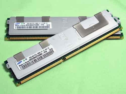 Samsung начнет выпуск 32-Гб модулей DDR3 на базе 40-нм технологии