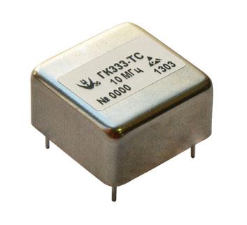 Миниатюрный ультрамалошумящий прецизионный термостатированный кварцевый генератор ГК333-ТС
