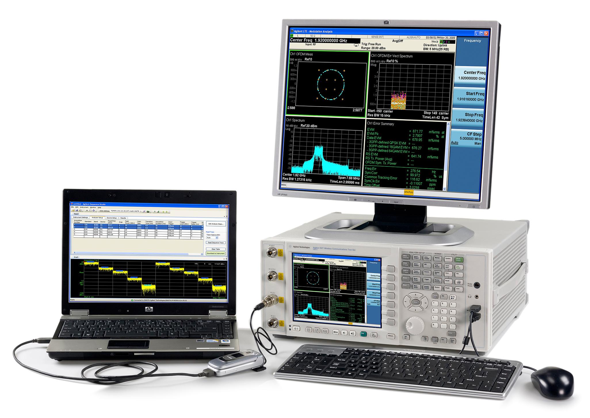 Комплекс для производственного тестирования беспроводных соединений от Agilent Technologies