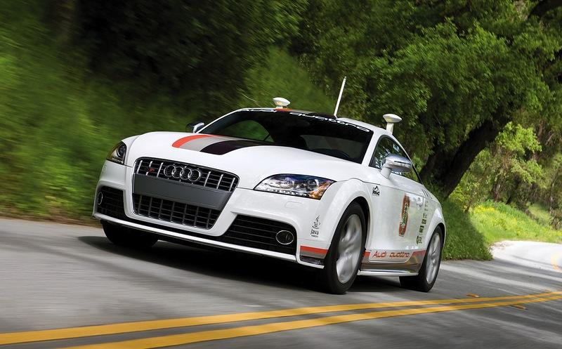 Google, Mercedes и Audi разрешили тестировать беспилотные автомобили на дорогах Калифорнии