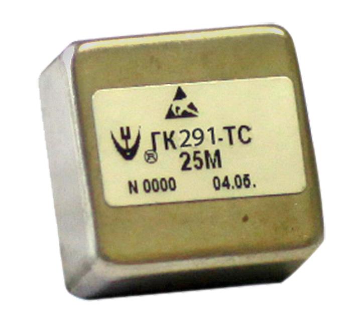 Новый малогабаритный прецизионный малошумящий кварцевый генератор ГК291-ТС