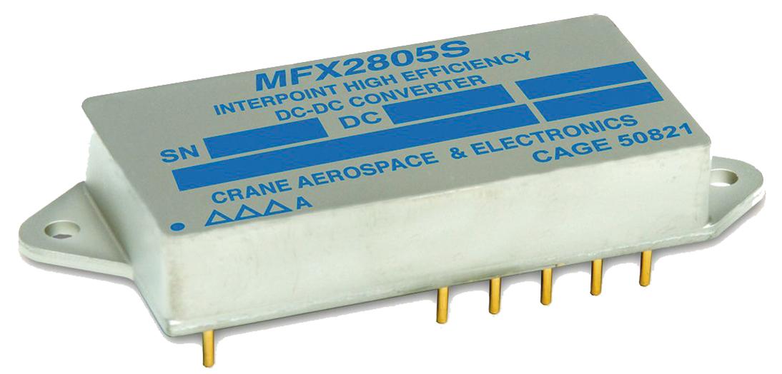 50-ваттные DC/DC серии MFX для бортовой аппаратуры авиационно-космической техники