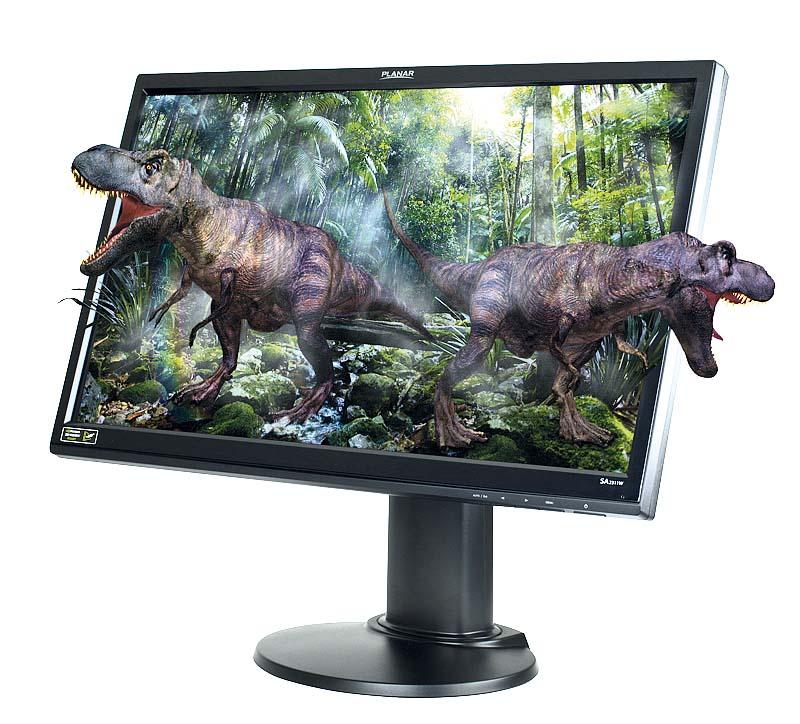Стереомонитор SA2311W 3D Vision™ с разрешением Full 1080 HD от Planar Systems