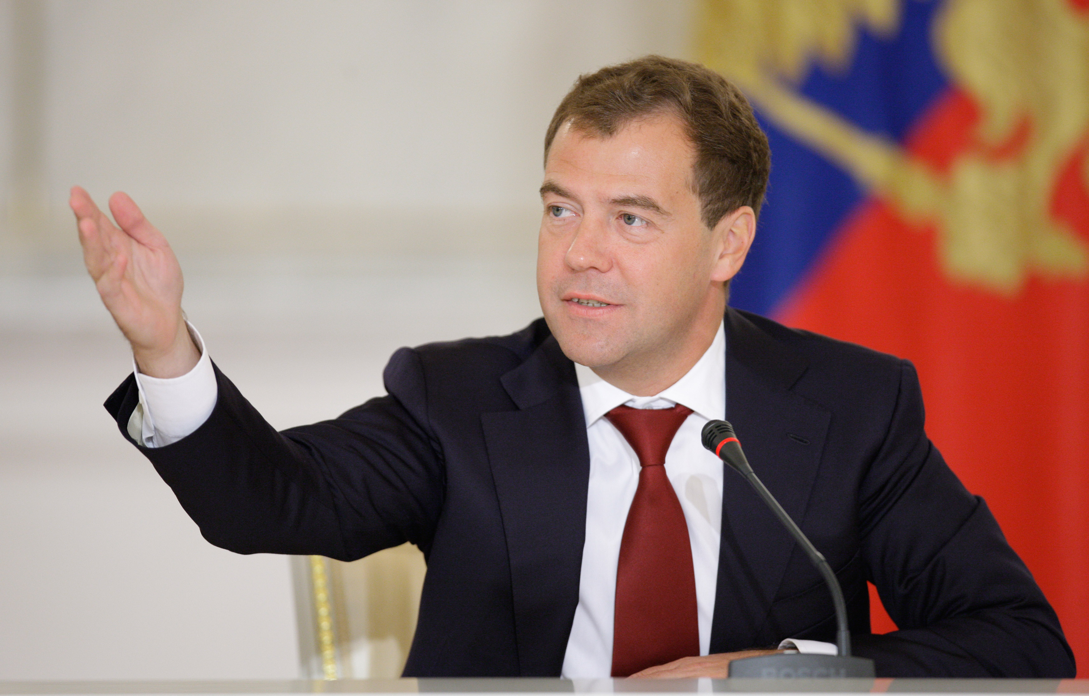 Медведев обратился к участникам и гостям «Связь-Экспокомм-2015»