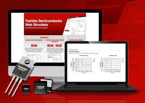Онлайн-инструмент проектирования от Toshiba упрощает разработку систем и выбор силовой части