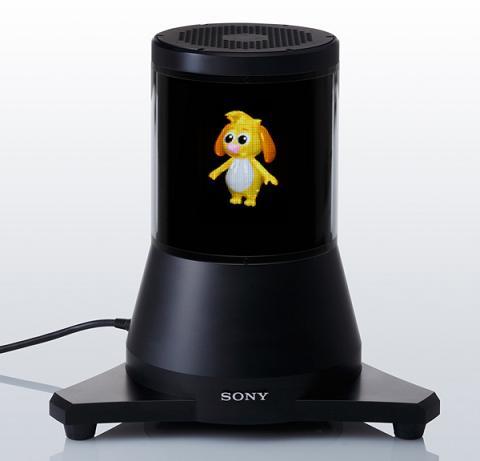 Sony создала 3D-дисплей с углом обзора 360°
