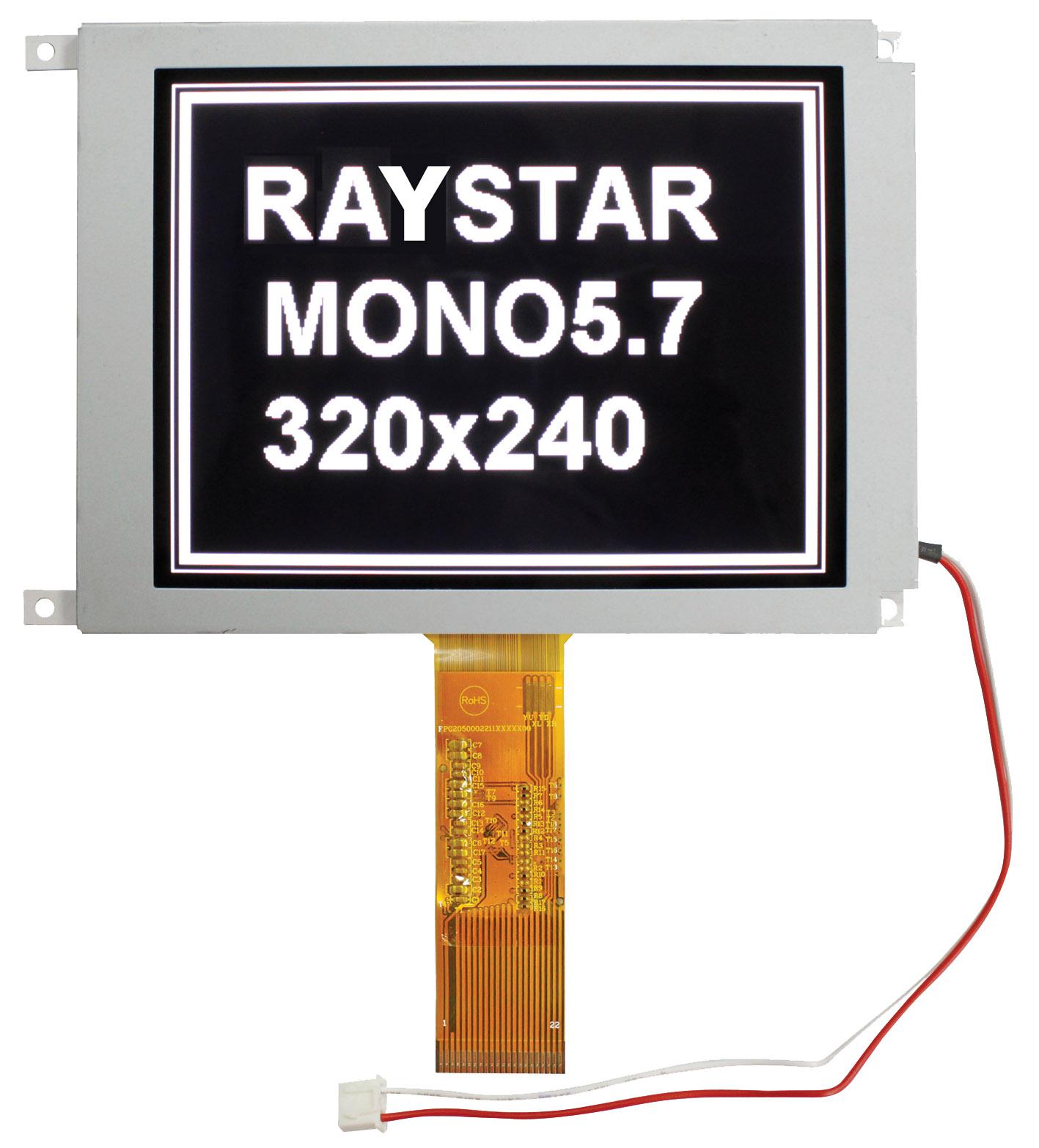 """Монохромный TFT ЖК-дисплей с размером диагонали 5,7"""""""