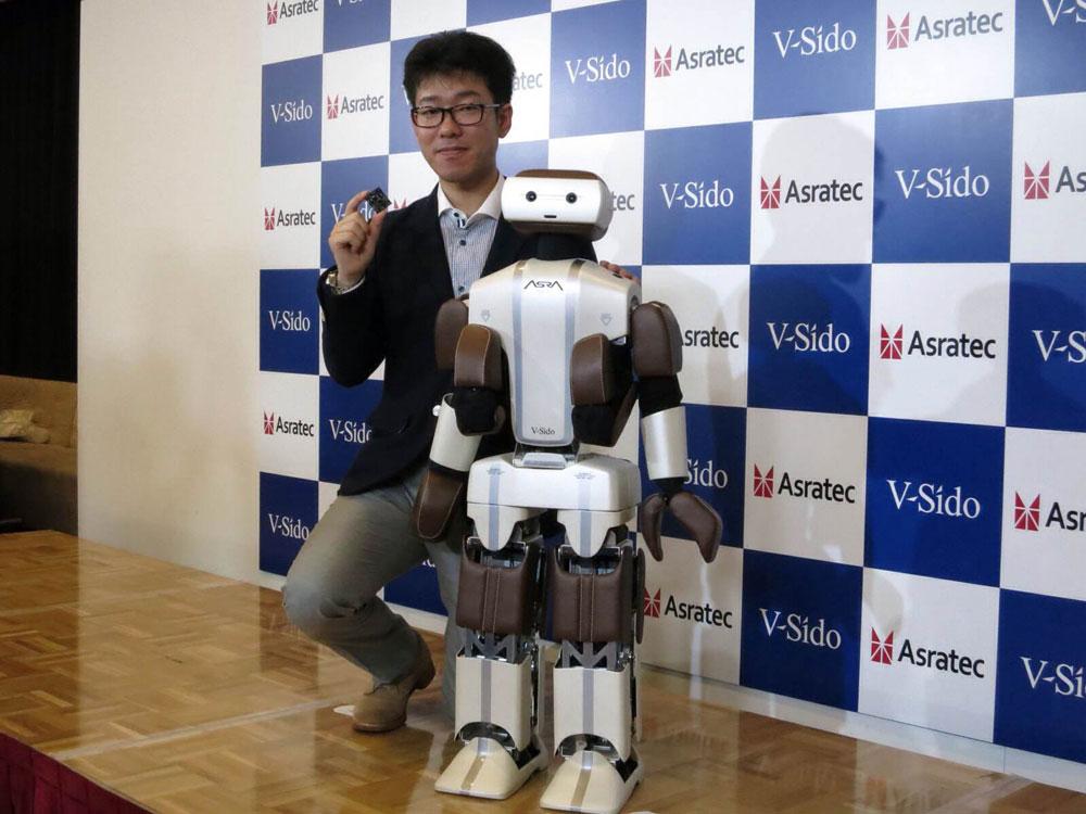 Asratec разработала ОС для человекоподобных роботов