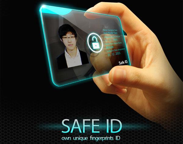 Концепт электронного паспорта будущего