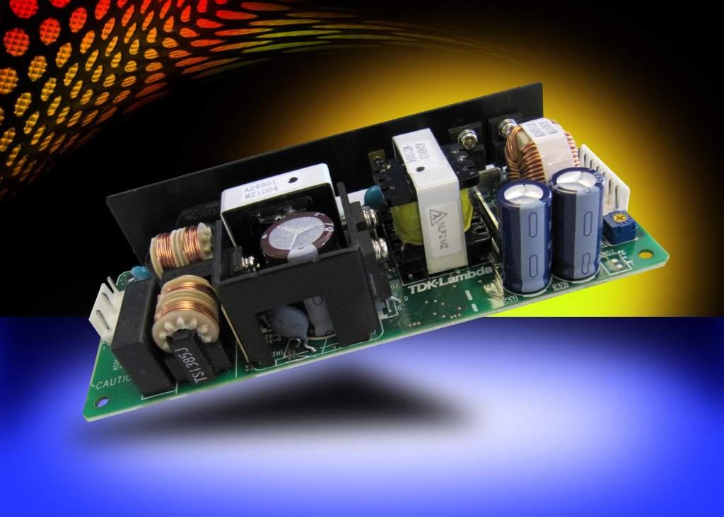 100- и 150-Вт источники питания AC/DC серии ZWS-BAF от TDK-Lambda