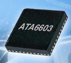 8-разрядный микроконтроллер и LIN-чип в одном корпусе