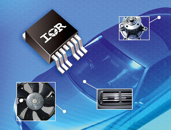 Интеллектуальные силовые ключи с высоким уровнем интеграции с активным контролем за di/dt в системах управлении автомобильными двигателями