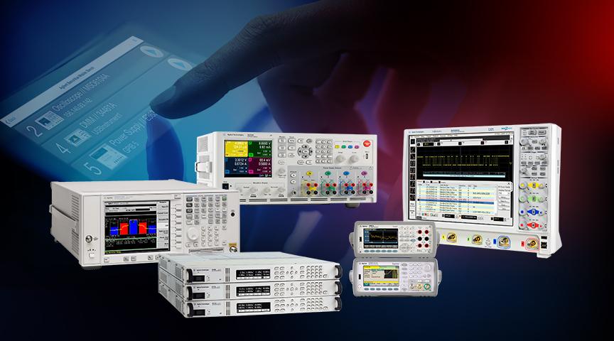 ПО от Agilent Technologies для ускорения испытаний с помощью настольных приборов