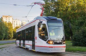 В Москве приступили к испытаниям ГЛОНАСС-трамвая