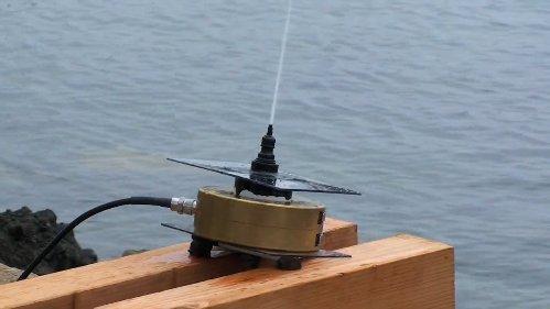 Морская вода как альтернатива антеннам