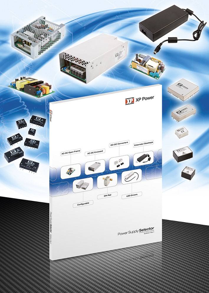 Новый справочник XP Power для точного выбора и классификации ИП