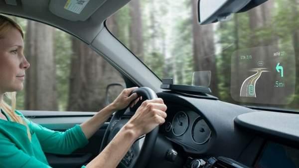 Концепт Navdy превратит лобовое стекло автомобиля в дисплей