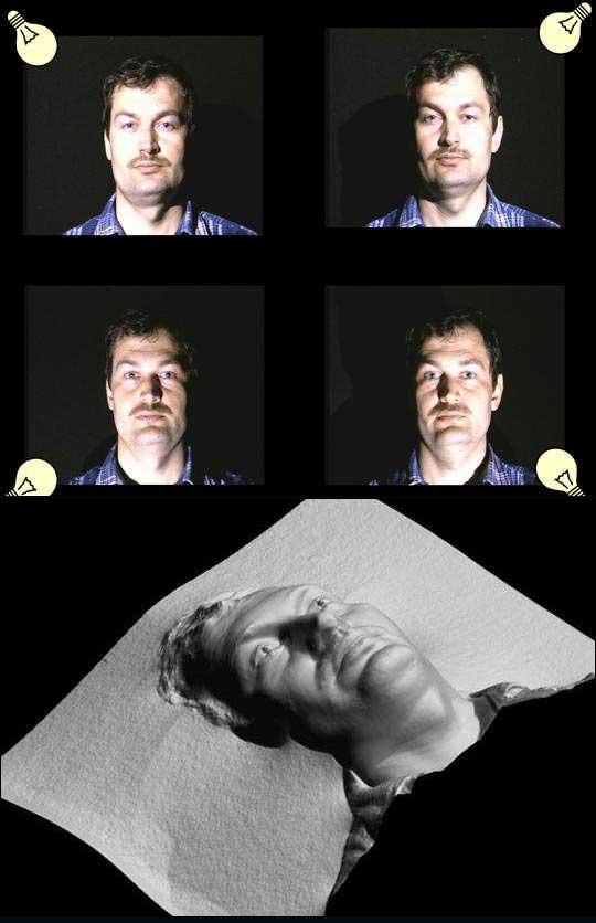 Трёхмерные фотографии можно получать при помощи одной камеры