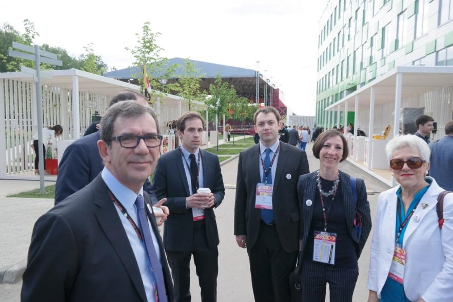 Послы США, Франции и Японии заявили о поддержке проекта «Сколково»