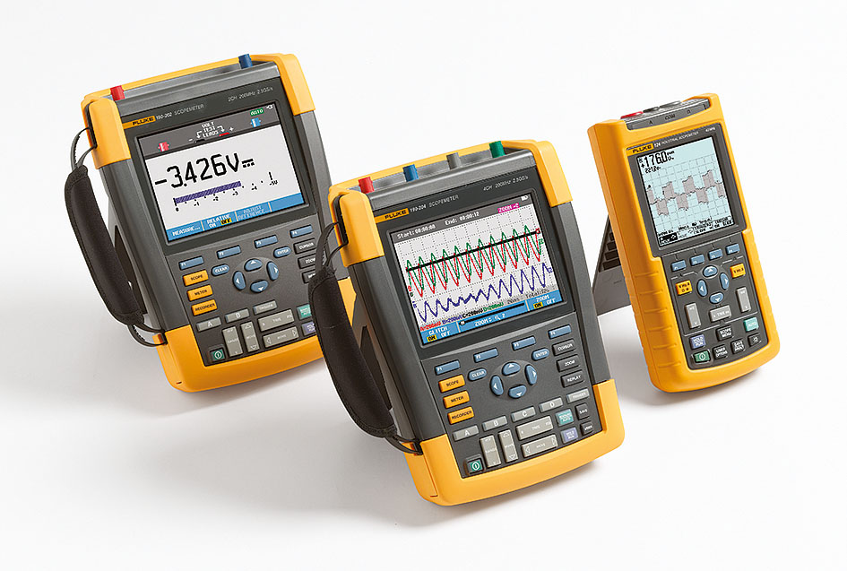Новые двухканальные осциллографы серии Fluke 190 II ScopeMeter®