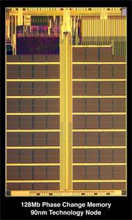 Numonyx начинает продажи памяти на основе фазового перехода