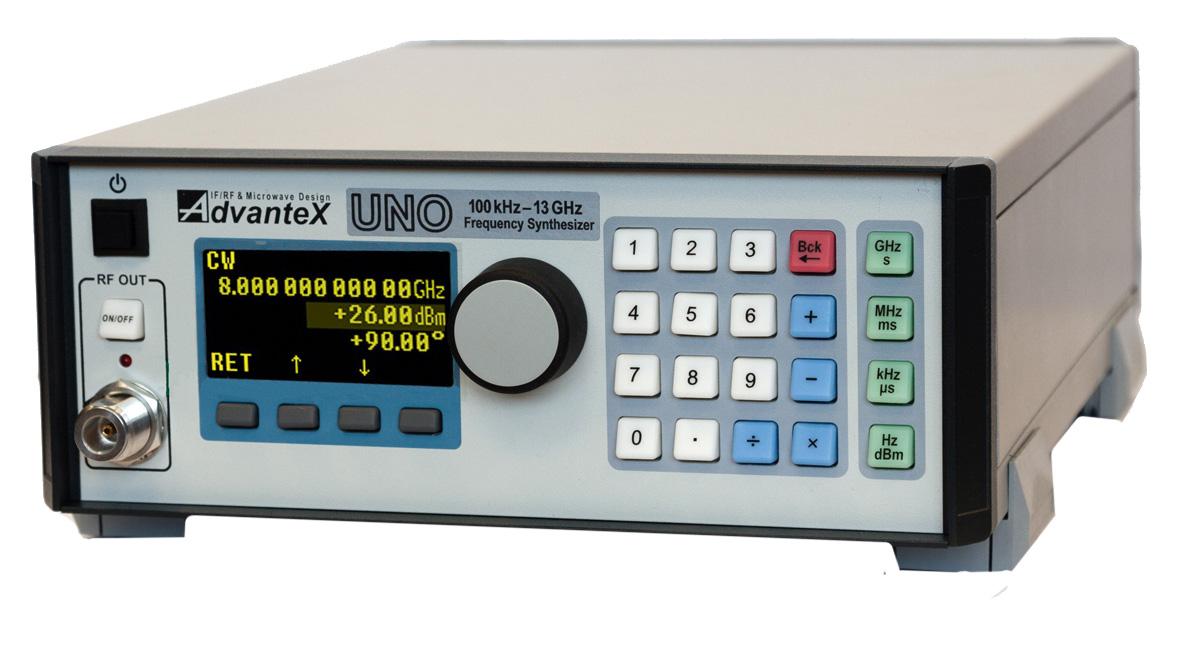 Малошумящий генератор сигналов 100 кГц – 13 ГГц