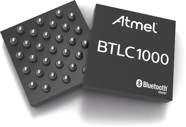 Новые Bluetooth Low Energy (BLE)  решения от Atmel