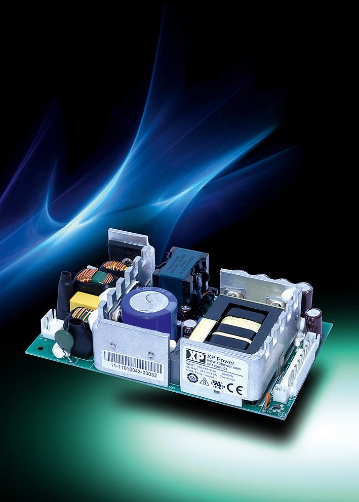 Недорогие 150-Вт источники питания AC/DC в исполнении «открытый каркас» для крупносерийных применений