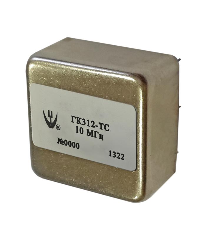 Прецизионный малогабаритный термостатированный кварцевый генератор ГК312-ТС