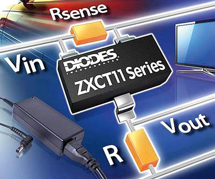 Датчики тока серии ZXCT11xx