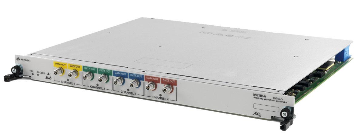 Высокоскоростной генератор сигналов произвольной формы с частотой дискретизации 65 Гвыб/с  от Keysight Technologies