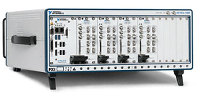 Компания National Instruments представляет первое в отрасли гибридное шасси, в котором все слоты работают в режиме PCI Express 2.0 x8
