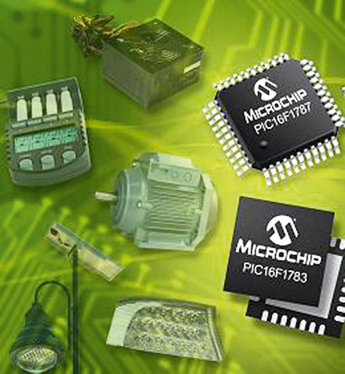 Microchip PIC16 с расширенной аналоговой и цифровой периферией