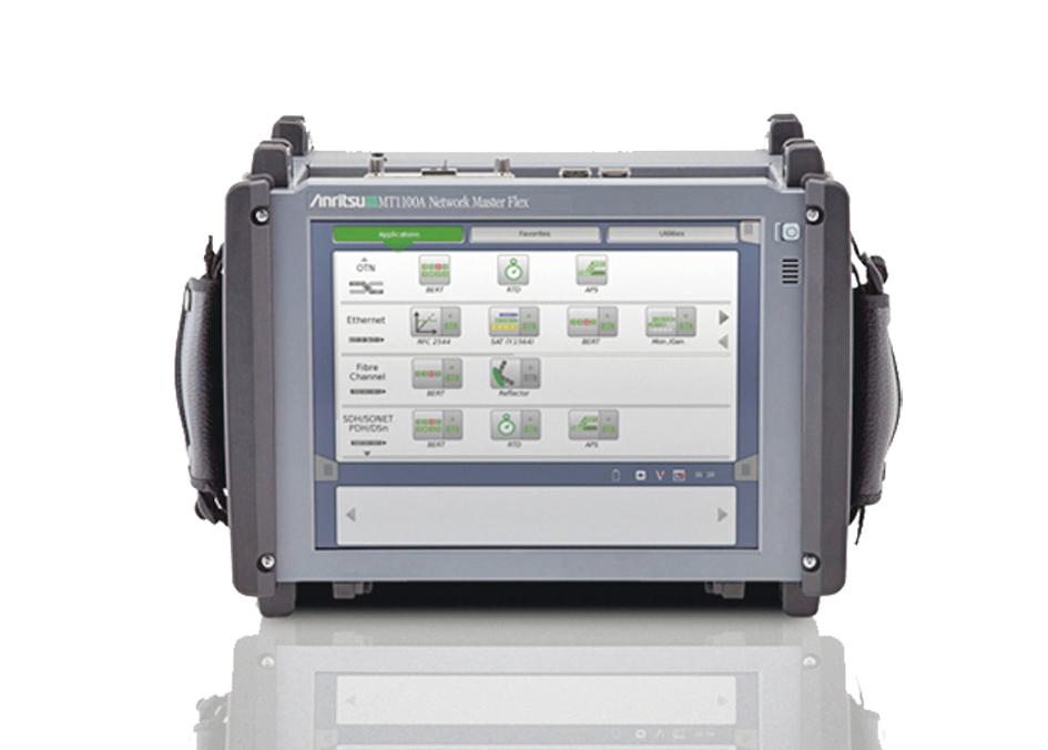 MT1100A – первый полевой тестер для 100 Гбит/с оптических транспортных сетей