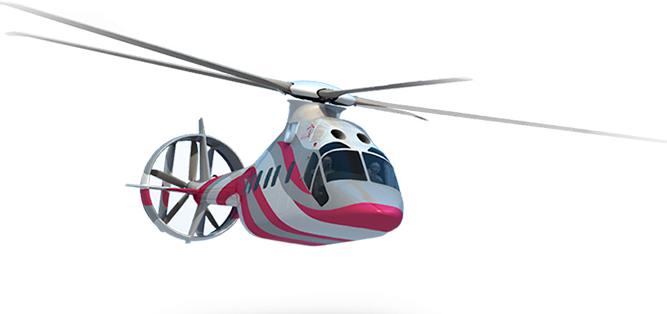 Проект перспективного скоростного вертолёта получит летающую лабораторию