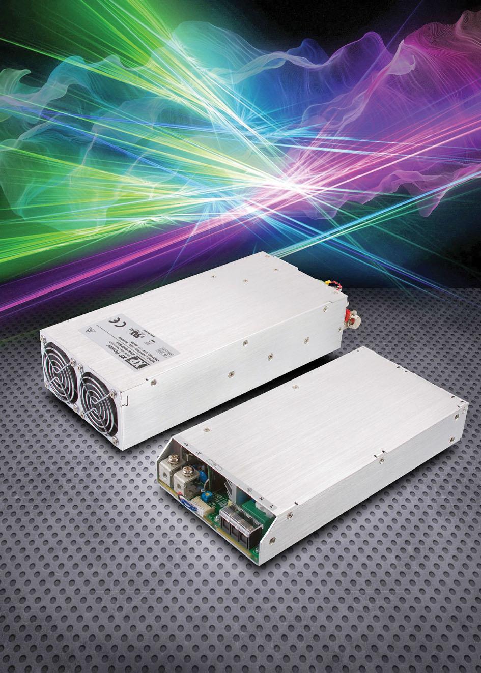 Программируемые  800- и 1500-Вт источники питания AC/DC