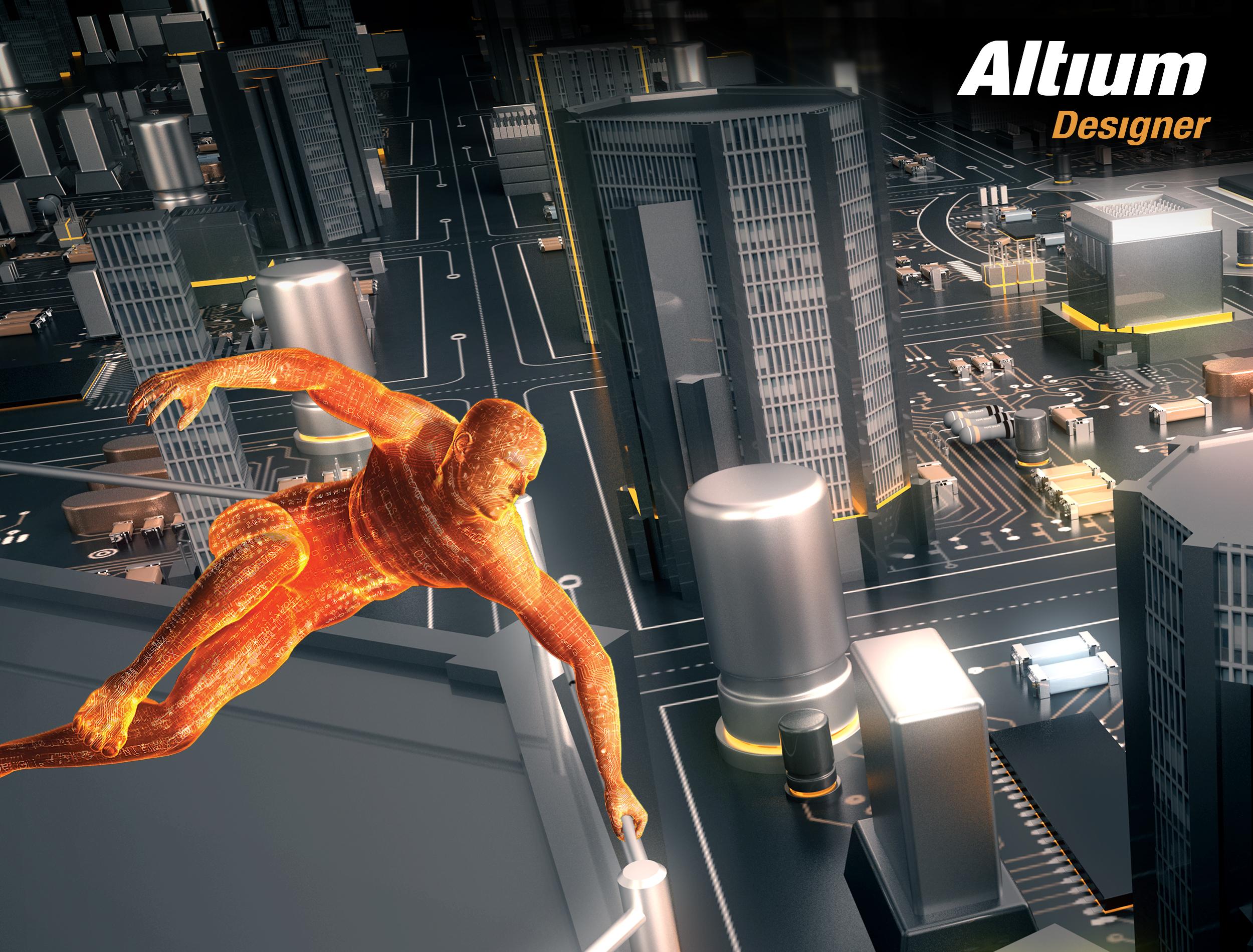 «Родник»: вышла новая версия программы Altium Designer 15