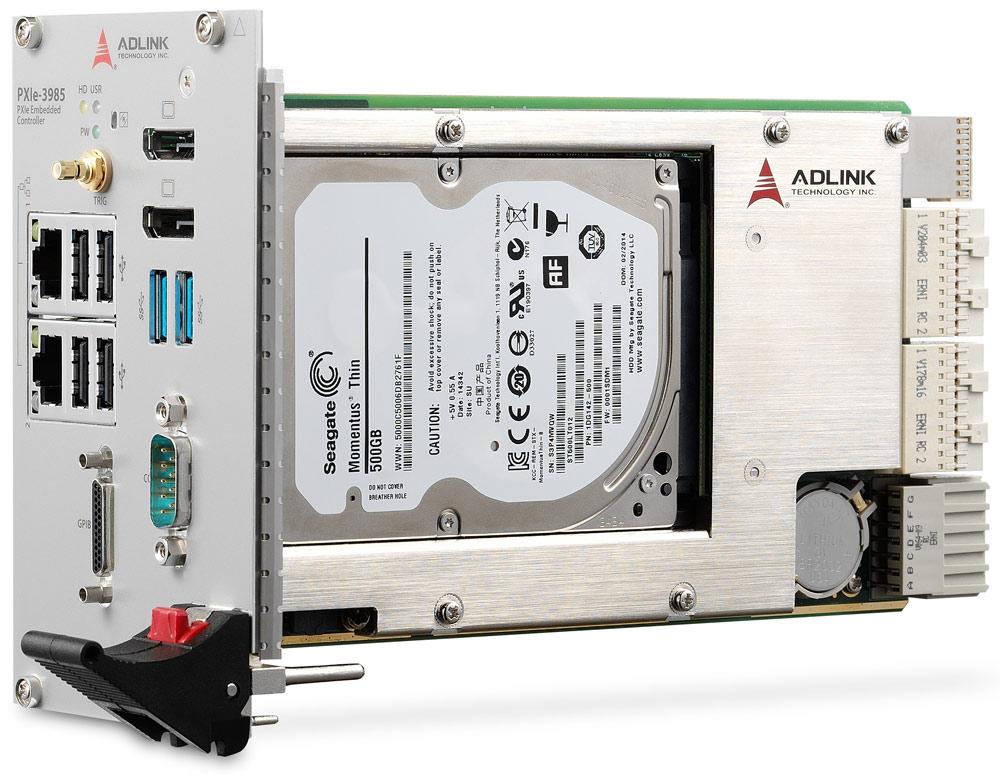 Встраиваемый контроллер PXI от компании ADLINK