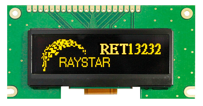 Новый графический OLED-дисплеи от Raystar Optronics