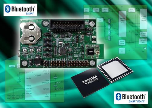 Стартовый набор Toshiba ускоряет разработку систем Bluetooth
