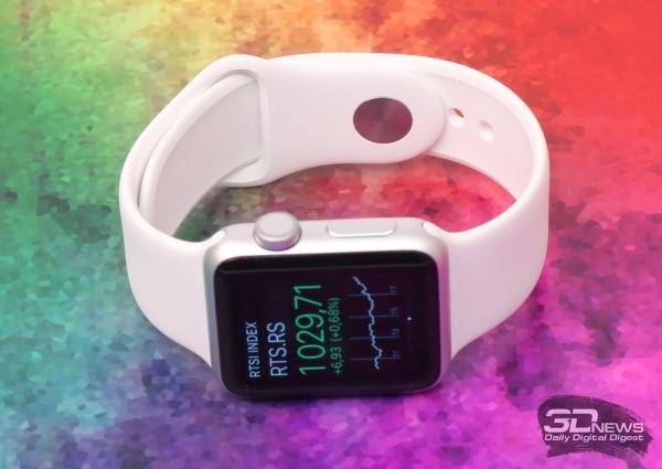 Российская компания участвует в производстве сапфировых дисплеев для Apple Watch