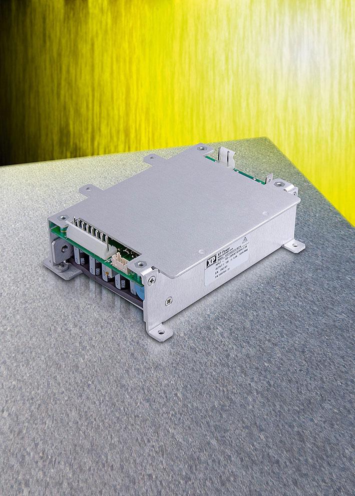 100-Вт источники питания AC/DC с кондуктивным теплоотводом для жёстких условий эксплуатации