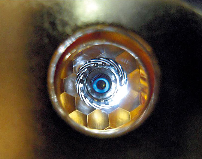 Ультрафиолетовый лазер преодолел рубеж мощности 500 тераватт