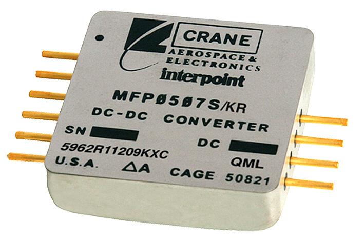 Уникальное решение для электропитания цифровых нагрузок, гарантируемое DC/DC-преобразователями типа POL Interpoint™ MFP™